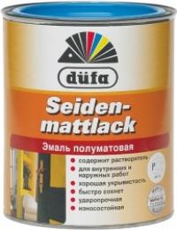 """Dufa_Seidenmattlack"" ЭМАЛЬ П/МАТ ,БЕЛАЯ"