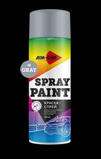 Краска спрей AIM-ONE 450 мл. (аэрозоль)