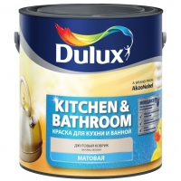 "КРАСКА В/Д ""Dulux_Kitchens&Bathrooms"" матовая"