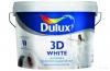 """Краска в/д """"Dulux 3D"""" Белая матовая база BW 10л"""