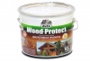 """Пропитка """"Wood Protect"""" для защиты древесины, белый 0,75л """"Dufa"""""""
