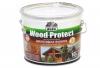 "Пропитка ""Wood Protect"" для защиты древесины, махагон 10л ""Dufa"""