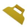 Шпатель для клея пластмассовый 130*170 мм зубчатый СИБРТЕХ