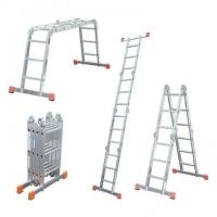 Лестница шарнирная (ТРАНСФОРМЕР) 4 секции по 3 ступени
