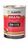 ЭМАЛЬ ПФ-115 (Лакра синтез) Белый ГЛЯНЦЕВЫЙ