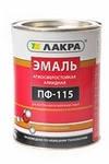 ЭМАЛЬ ПФ-115 (Лакра синтез) Коричневый Л-С